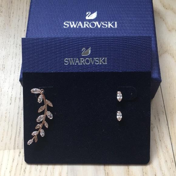 3b69f685e7 Swarovski Jewelry | Mayfly Pierced Earrings | Poshmark
